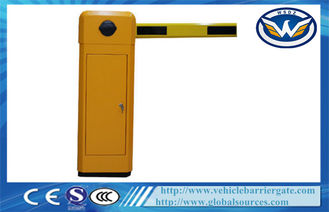 Highway Toll Collection Drop Arm Barrier , Automotive Access Control Parking Lot Barrier Gates