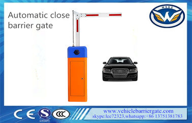 Vehicle Access Control Barrier Gate Operator 90 Degree Parking Lot CE Approval
